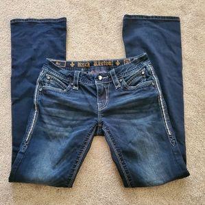 rock revival size 26 boot cut jeans